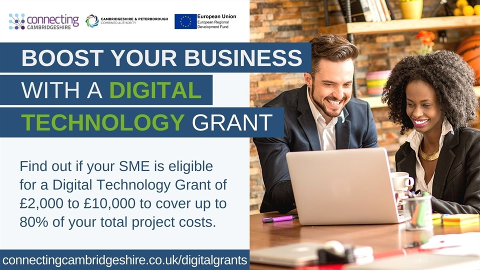Digital Technology Grant scheme set to inject upwards of £1.4million to sustain local businesses